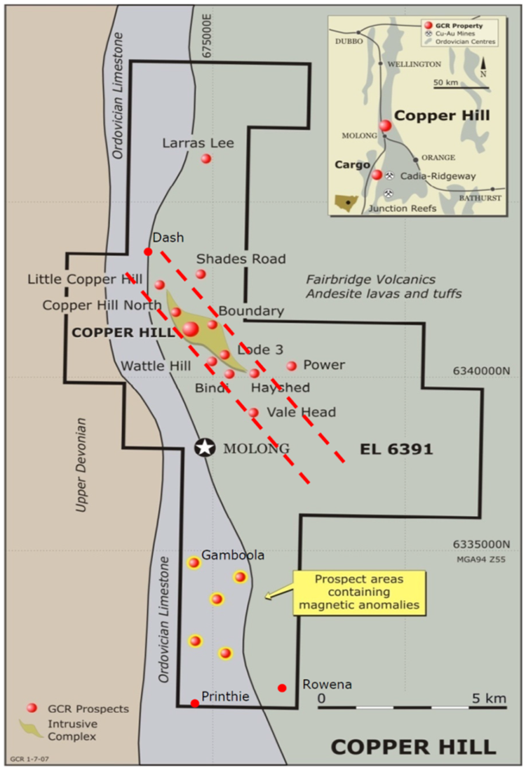 Figure 11: Prospect Locations